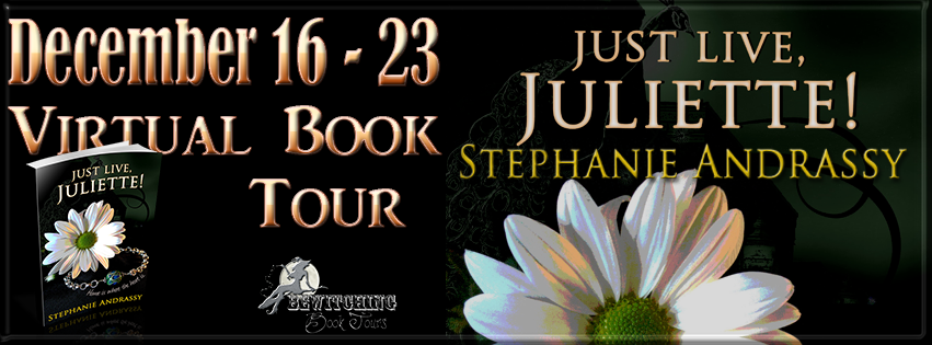 Just Live, Juliette! Virtual Book Tour Dec 16-23