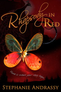 Rhapsody in Red Cover
