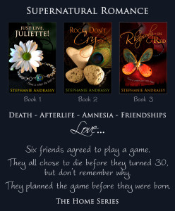 Death. Afterlife. Amnesia. Friendships. Love. Six friends agreed to play a game. They all chose to die before they turned 30, but don't remember why. They planned the game before they were born.